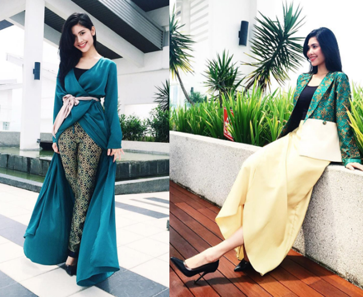 Foto Menawan Afifah Nasir, Adik Pelakon Cantik Anzalna