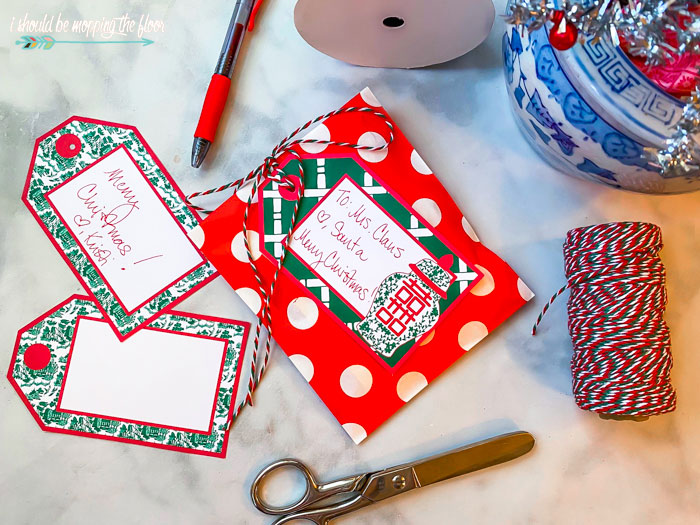 Chinoiserie Chic Gift Tags