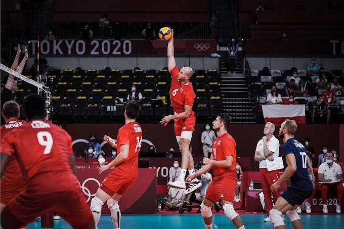 Tokió 2020 - Győztek és negyeddöntősök a világbajnok lengyel férfi röplabdázók