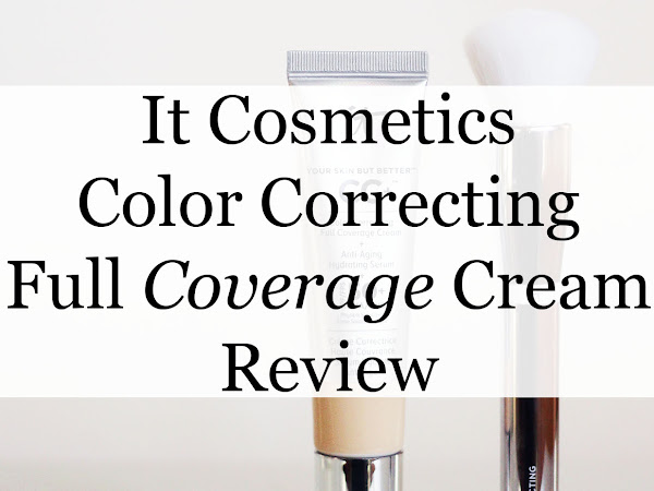 It Cosmetics Color Correcting Full Coverage Cream Review
