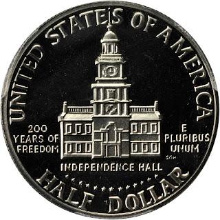 1976 Silver Bicentennial Kennedy Half Dollar
