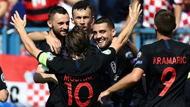 """فوز المنتخب الكرواتي على ويلز في تصفيات """"يورو 2020"""""""
