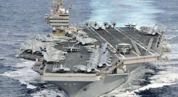Tiga Marinir AS Tewas Bunuh Diri di Atas Kapal Induk