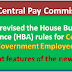 Govt revised the House Building Advance (HBA) rules for Central Government Employees