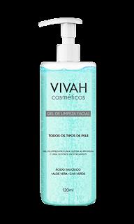 gel de limpeza facial vivah cosméticos resenha dicas da tia