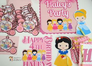 princess party, Snow white, Cinderella, Rapunzel, Sleeping beauty, Beauty and the beast
