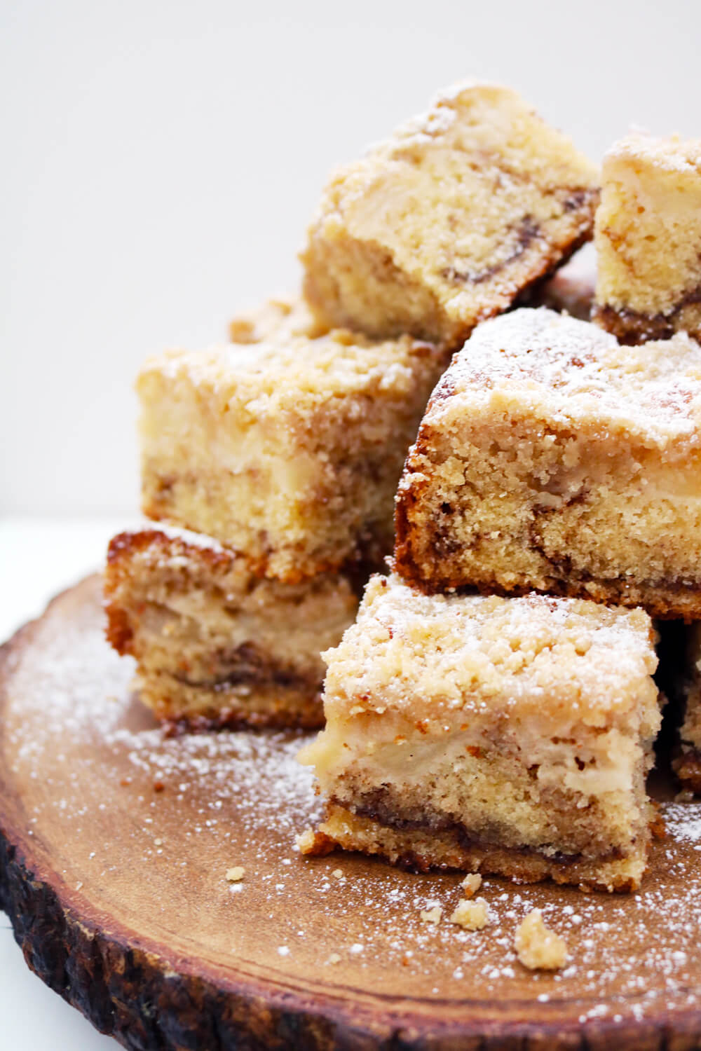 Apple and Cinnamon Crumble Traybake  | Take Some Whisks