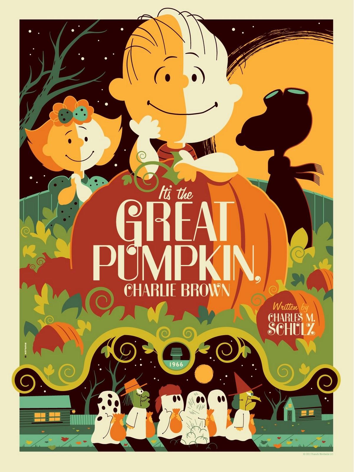 The Blot Says Peanuts It S The Great Pumpkin Charlie