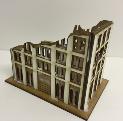 10mm City Block Ruin C Kit