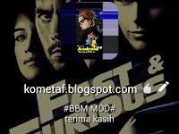 BBM MOD v3.0.0.18 Fast and Forious APK Terbaru 2016 Gratis