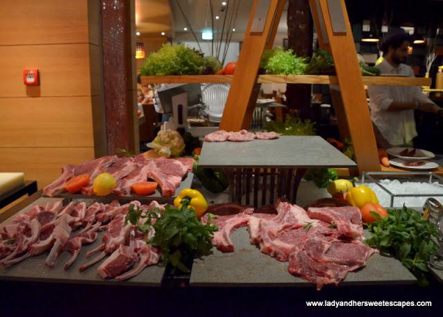 Live BBQ in A La Turca Iftar