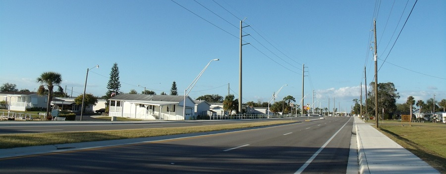 Carretera en Charlotte County