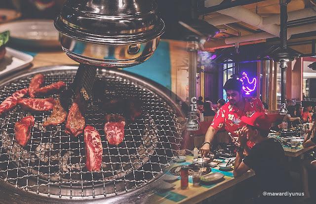 MAKAN MALAM DI SEOULNAMI KOREAN BBQ THE GARDEN