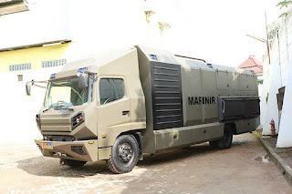 Kendaraan Khusus Dapur Lapangan Milik Marinir TNI AL