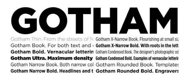 Gotham Font Family Download Font Free