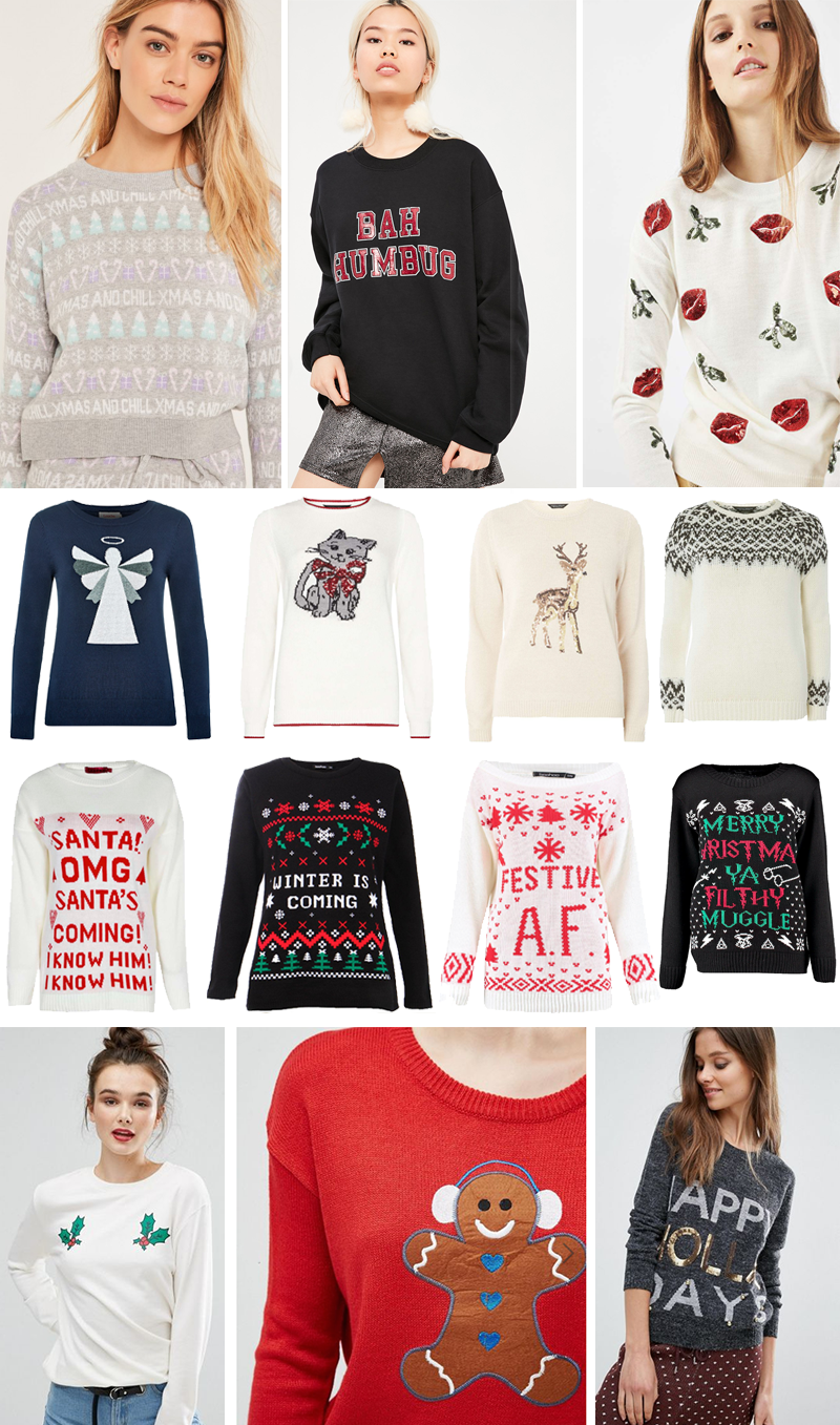 Funny Cool Christmas Jumpers 2016 | Colours and Carousels - Scottish Lifestyle, Beauty and Fashion blog
