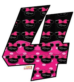 Minnie Letters. Letras de Minnie.