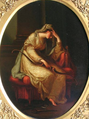 Penelope weeping