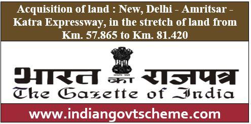 Delhi Amritsar Katra Expressway