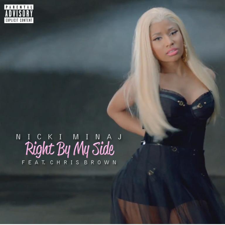 Lilbadboy0 Single Cover Nicki Minaj Right By My Side
