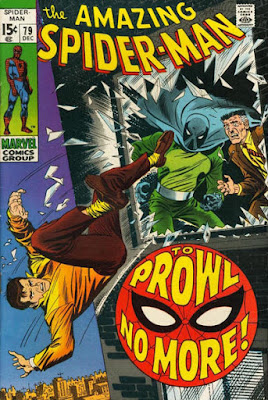 Amazing Spider-Man #79, the Prowler
