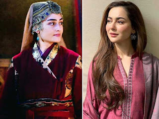 Haniya Aamir's wants Role like Halima Sultan