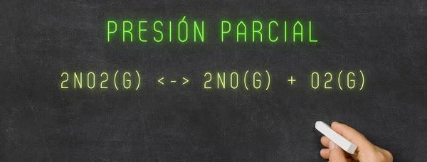 Calcular la PRESIÓN PARCIAL del Oxigeno (O2) para la descomposición del Dióxido de Nitrógeno (NO2)