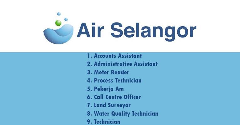 Kekosongan Terkini di Pengurusan Air Selangor Sdn Bhd