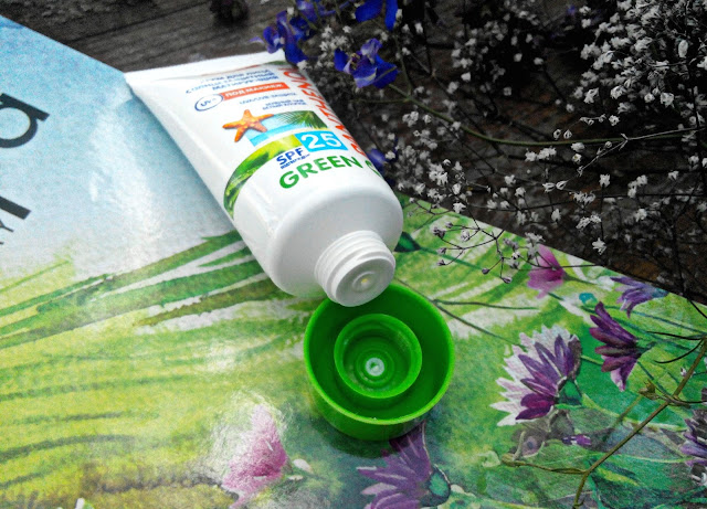 Крем для лица солнцезащитный матирующий SPF 25 Sun Energy Green Panthenol