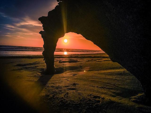 panjang beach bengkulu indonesia