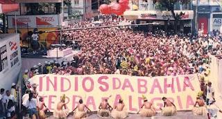 Foto Facebook Apaches  divulgação - Matéria Carnaval da Bahia - BLOG LUGARES DE MEMÓRIA