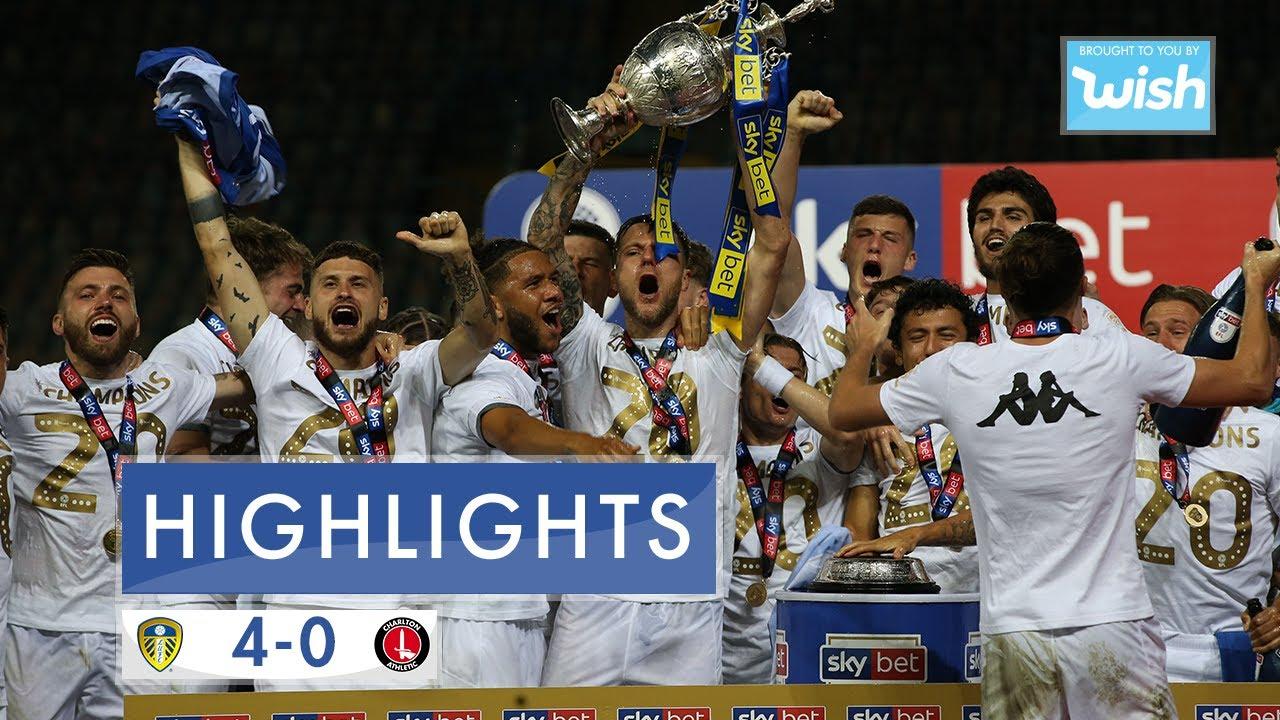 Video Leeds 4-0 Charlton United