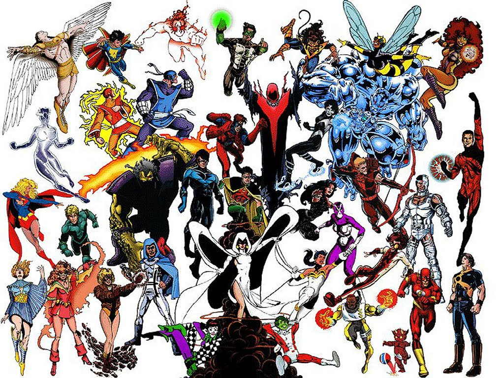 Teen Titans In Love