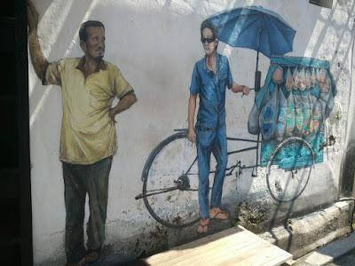 槟城,壁画街