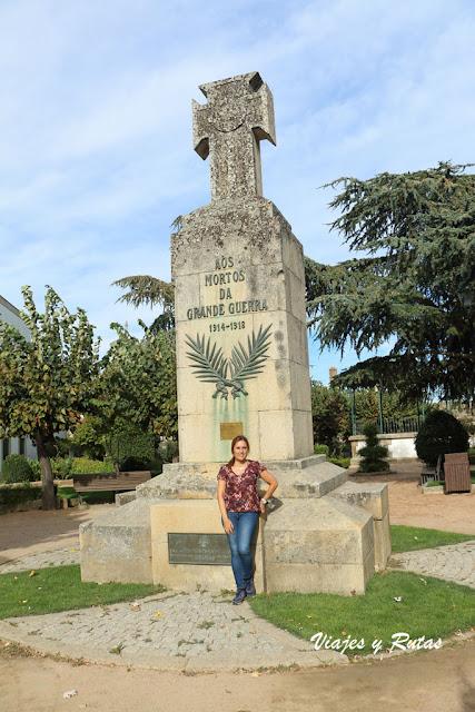Monumento a los combatientes de la Primera Guerra Mundia, Almeida