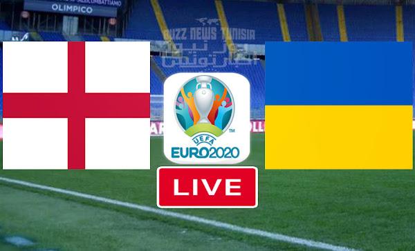Watch Match Ukraine vs England euro 2020 live streaming