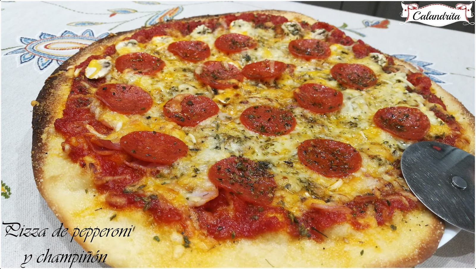 La cocina de calandrita - Pizza mycook ...