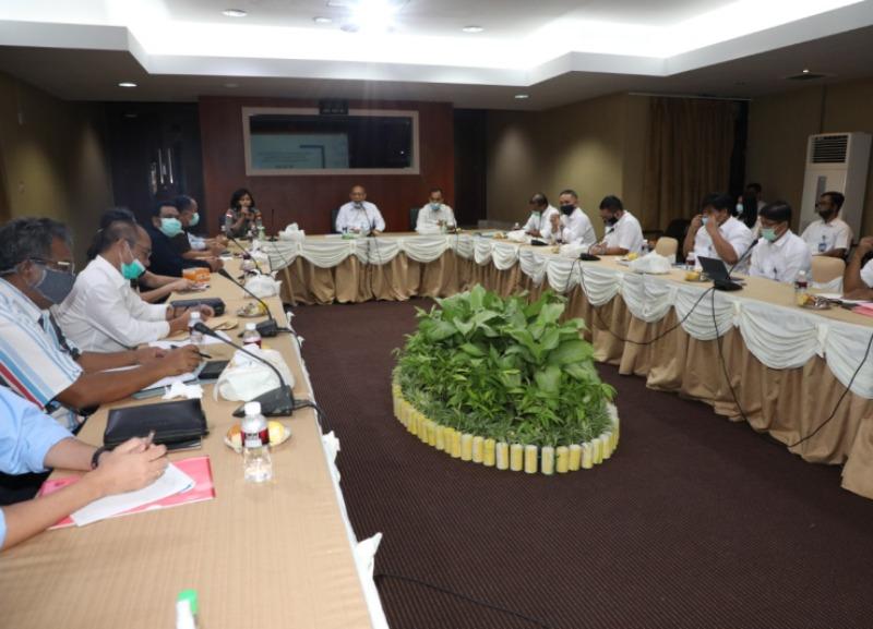 BP Batam Koordinasikan Persiapan Pendistribusian Bantuan Sembako