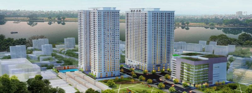 Phối cảnh dự án ICID Complex Lê Trọng Tấn