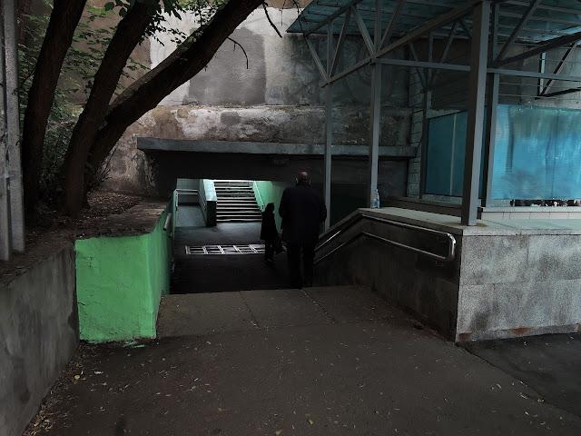 колодезный переулок подземный переход под метро