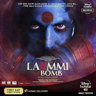 Laxmii Or Laxmmi Bomb First Look Poster 2