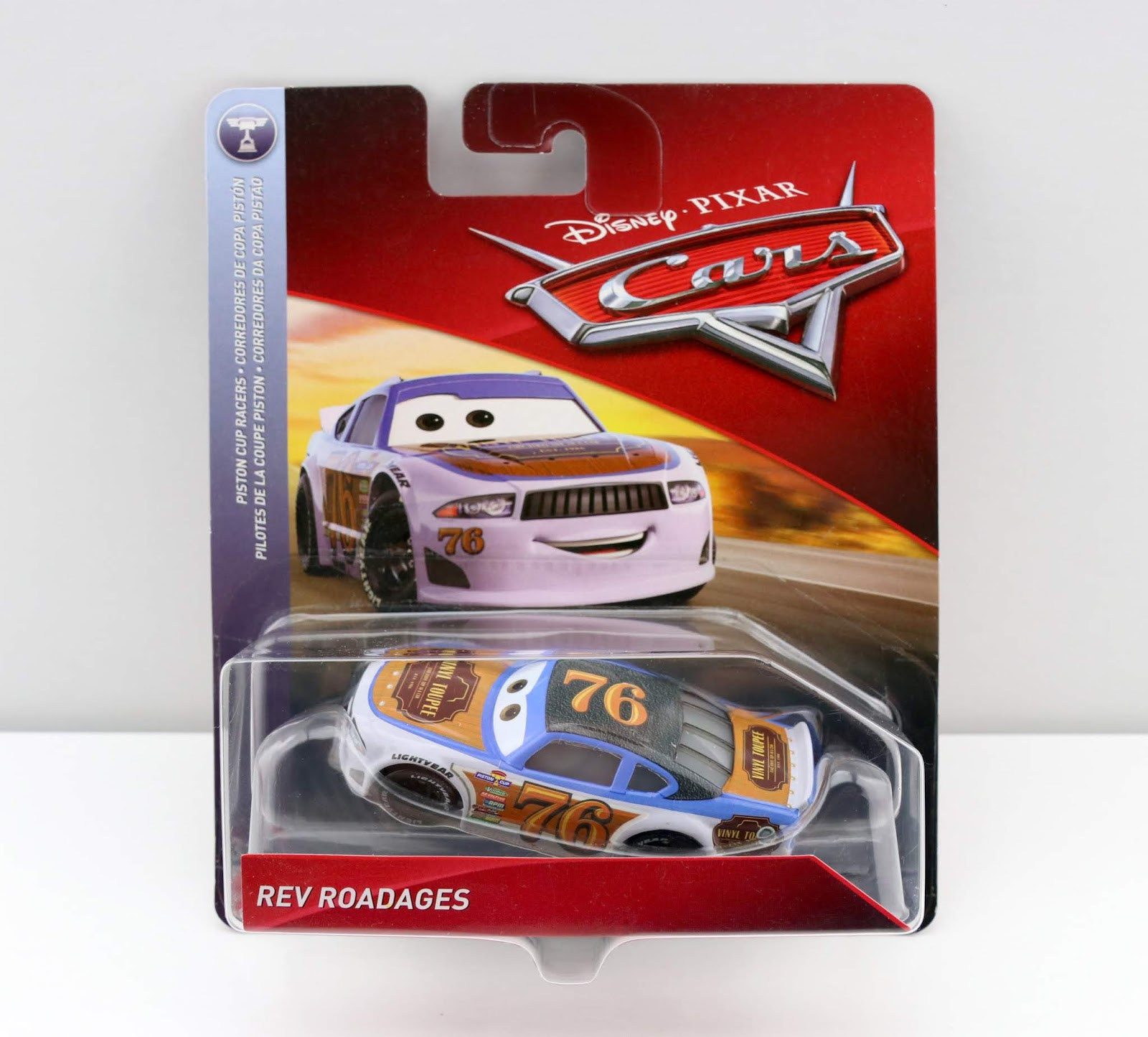 Cars 3 Rev Roadages diecast review