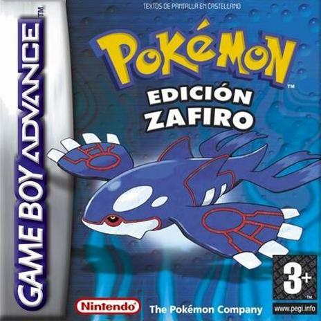Pokémon Zafiro - Español - Portada