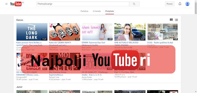 💻 📱 Najbolji Balkanski YouTuberi 💻 📱