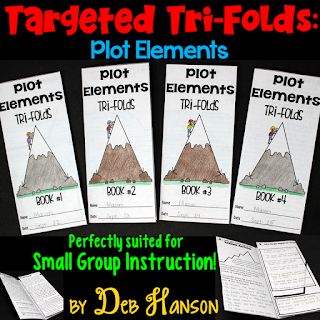 These four plot tri-folds target the skill of analyzing the plot progression in a book, story, or reading passage. Use these plot elements tri-folds over the course of 4 days to provide targeted instruction on this topic.