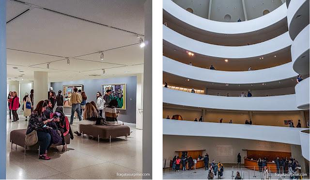 Sala dedicada a Picasso no Museu Guggenheim, Nova York