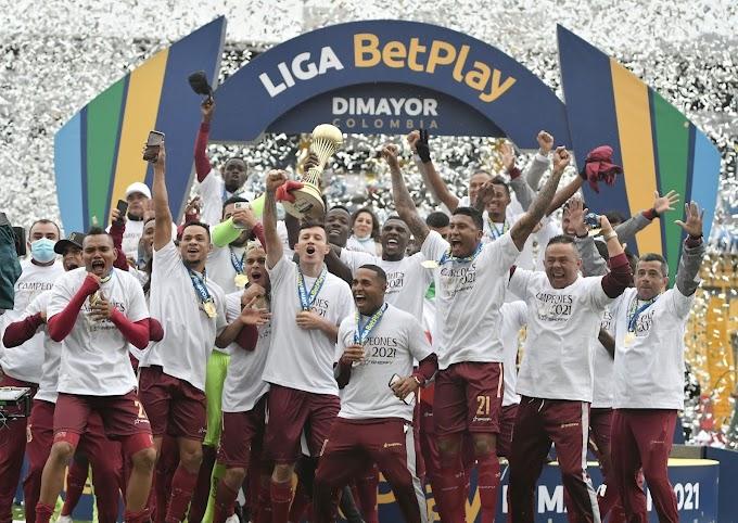 ¡Gigante! ¡DEPORTES TOLIMA firmó una nueva hazaña en su historia y se coronó campeón de la Liga BetPlay 1 2021!