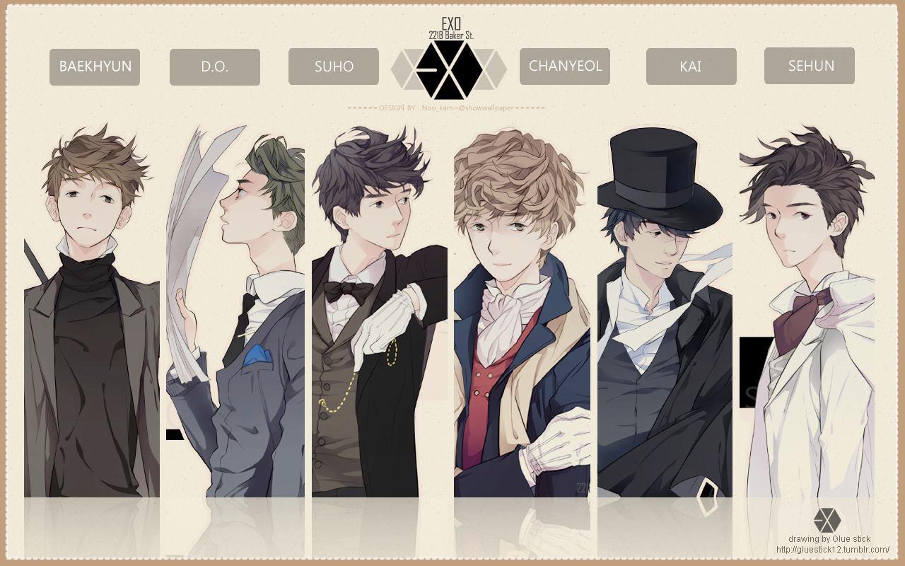 Gambar Kartun Chanyeol Exo