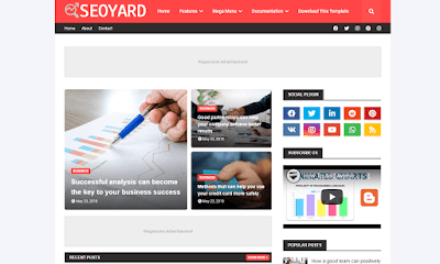 SEOYARD Premium Blogger Template