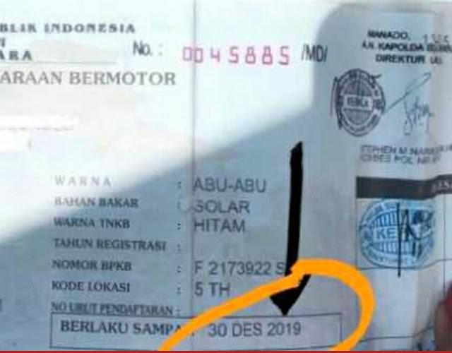 Polri Berlakukan Penghapusan Identitas di STNK Jika Dua Tahun Menunggak Pajak Kendaraan